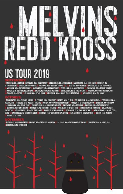 Melvins Redd Kross 2019
